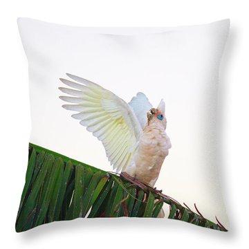 Happy Corella 2 Throw Pillow