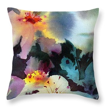 Happy Dance 2 Throw Pillow