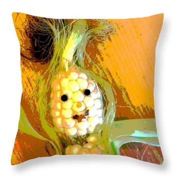 Happy Days Are Here Throw Pillow