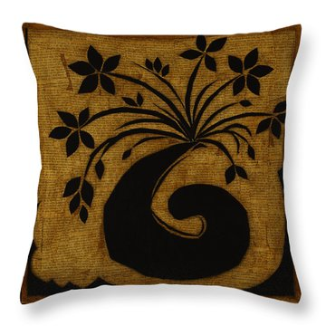 Happy Exuberance Throw Pillow