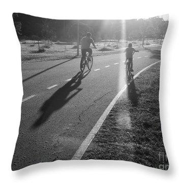 Throw Pillow featuring the photograph Happy Forever by Beto Machado