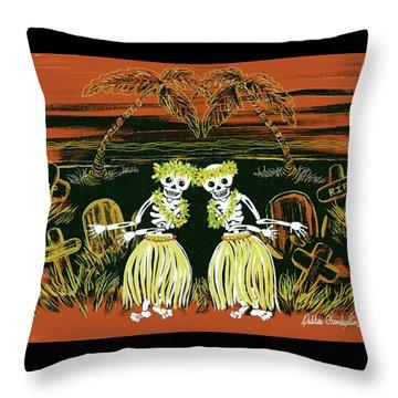 Happy Halloween Dance Throw Pillow