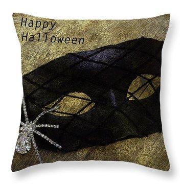 Happy Halloween Throw Pillow by Patrice Zinck
