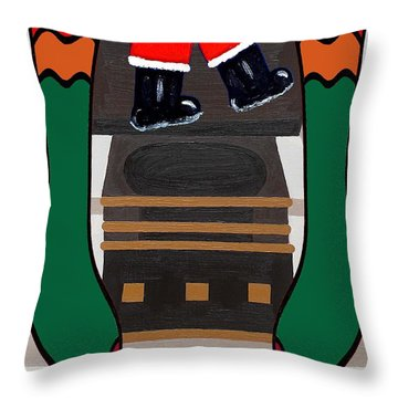 Happy Holidays 4 Throw Pillow by Patrick J Murphy