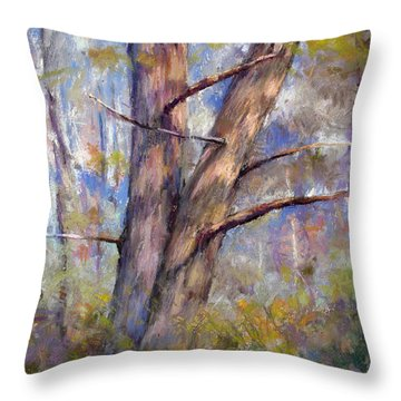 Happy Hour Throw Pillow by Susan Williamson