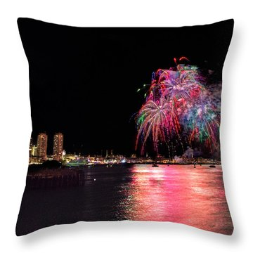 Happy Labor Day 213 Throw Pillow