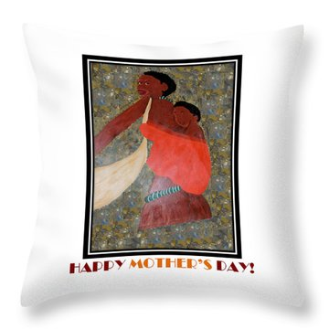 Happy Mother's Day 2 Throw Pillow