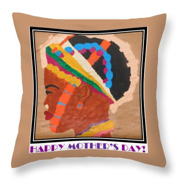 Happy Mother's Day 4 Throw Pillow