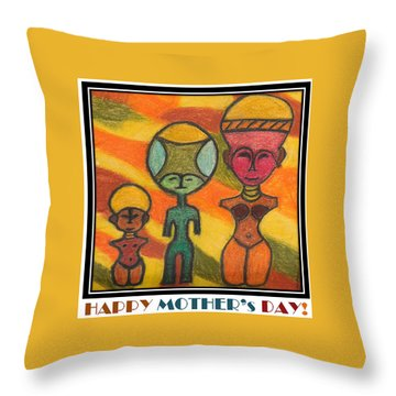 Happy Mother's Day 7 Throw Pillow
