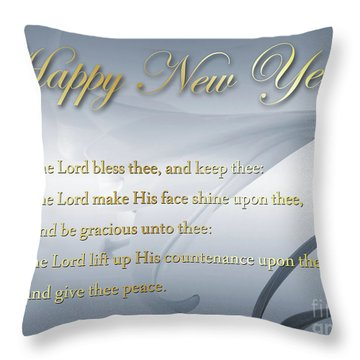 Happy New Year 2017 Throw Pillow