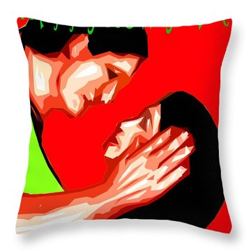 Happy New Year 49 Throw Pillow by Patrick J Murphy