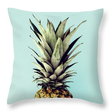 Happy Pinneaple Throw Pillow