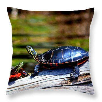 Happy Together  Throw Pillow