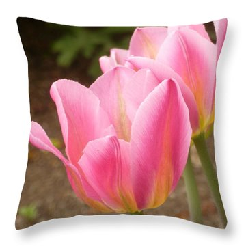 Happy Together Throw Pillow by Lingfai Leung