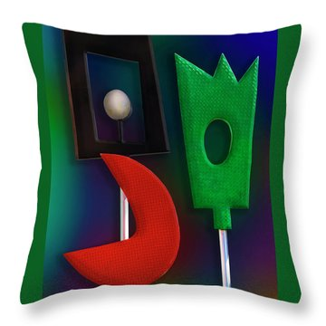 Throw Pillow featuring the photograph Happy Together  by Paul Wear