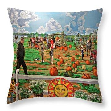 Harbe's Family Farm Throw Pillow
