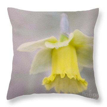 Harbinger Of Spring Throw Pillow by Cindy Garber Iverson