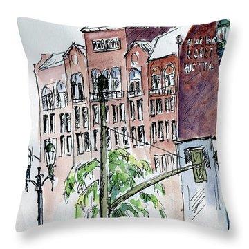 Harbor Court Hotel, San Francisco Throw Pillow