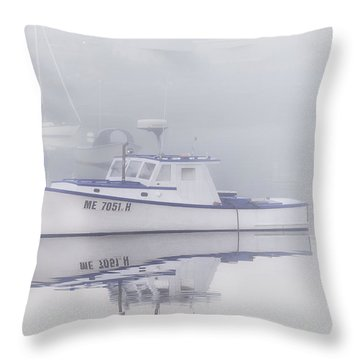 Harbor Mist   Throw Pillow