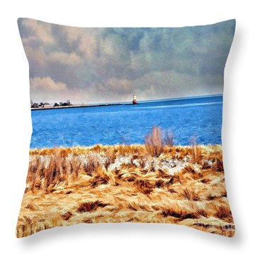 Harbor Of Tranquility Throw Pillow