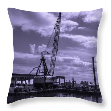Fells Point Baltimore Maryland Throw Pillows