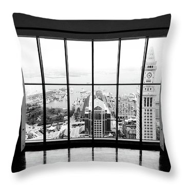 Harbor View Throw Pillow by Greg Fortier