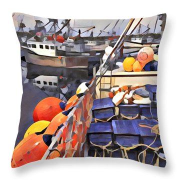 Harbour Ville Throw Pillow