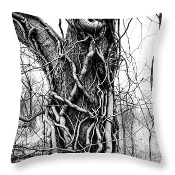 Hard Embrace Throw Pillow