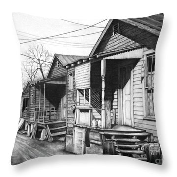 Hard Knock Life Throw Pillow
