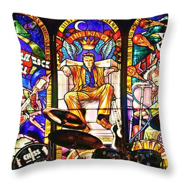 Hard Rock Cafe Throw Pillow