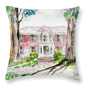 Hardaway House Throw Pillow