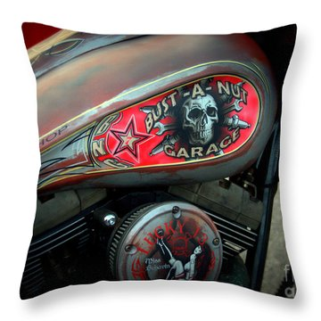Harley 1 Throw Pillow