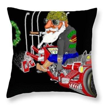 Harley 2069 Throw Pillow by Steve  Hester
