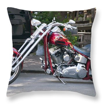 Harley Chopped Throw Pillow