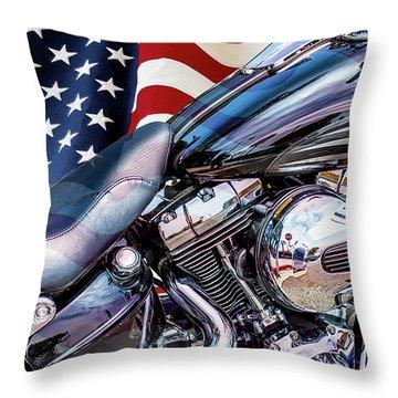 Harley-davidson 103 - B Throw Pillow
