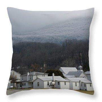 Harman Throw Pillow by Randy Bodkins