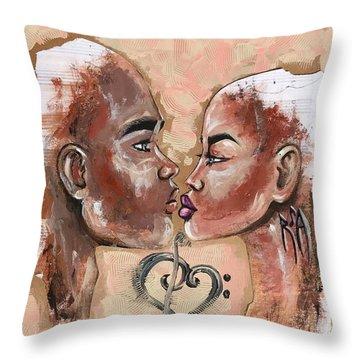 Harmonies Throw Pillow
