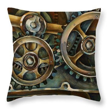 Harmony 2 Throw Pillow by Michael Lang