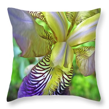 Harmony 4 Throw Pillow