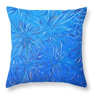 Harmony And  Health Talisman Throw Pillow
