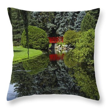 Throw Pillow featuring the photograph Harmony by Heather Kenward