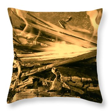 Harmony I Throw Pillow