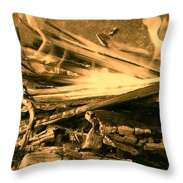 Harmony I Throw Pillow