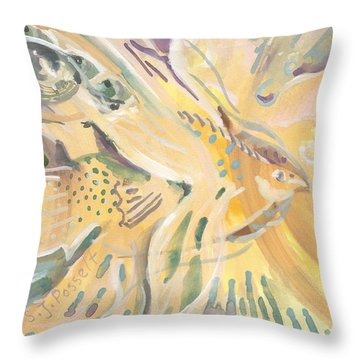 Harmony On Earth Throw Pillow