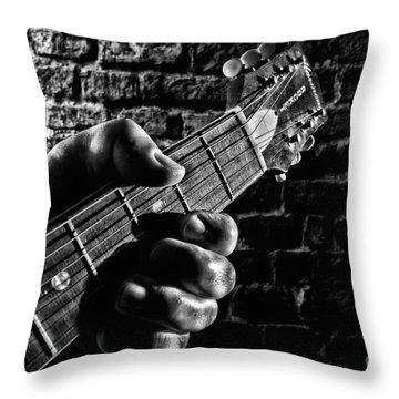 Harmony Rocket Throw Pillow