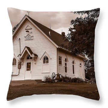 Harmony School Throw Pillow