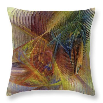 Harnessing Reason Throw Pillow
