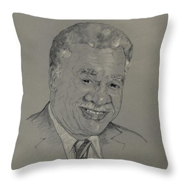 Harold Washington  Throw Pillow