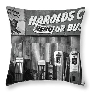 Harold's Club Throw Pillow