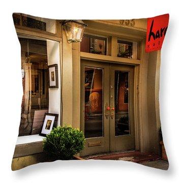 Harouni Gallery Throw Pillow